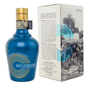 EVOO Recuérdame. First Oil Limited Ed. 6 x 500 ml.