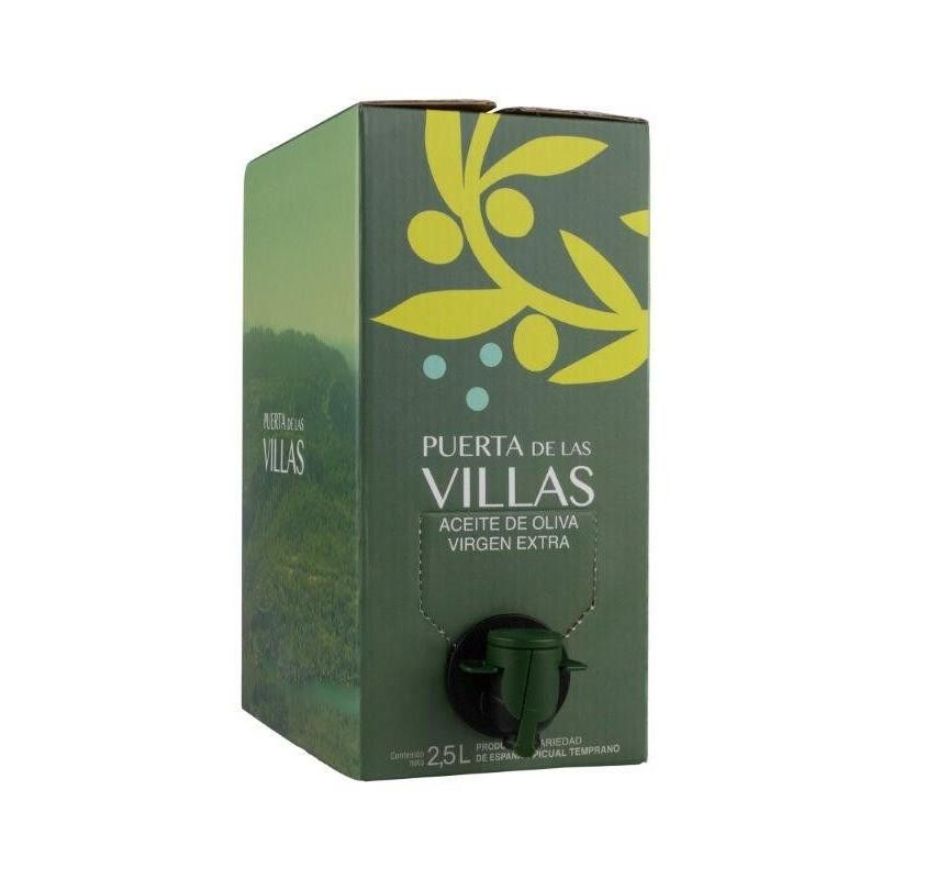 Puerta de las Villas Caja 6 Latas 2'5 litros Temprano