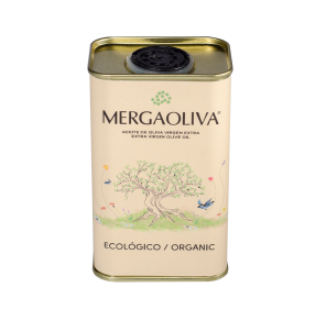 EVOO Mergaoliva Eco. Box of 18 cans of 250 ml.