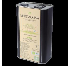 AOVE Mergaoliva Eco. Caja de 4 latas de 3 litros.