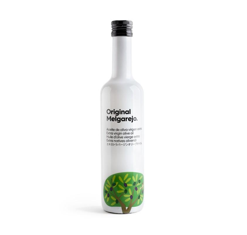 Original Melgarejo. AOVE Picual. Caja de 6 botellas de 500 ml.