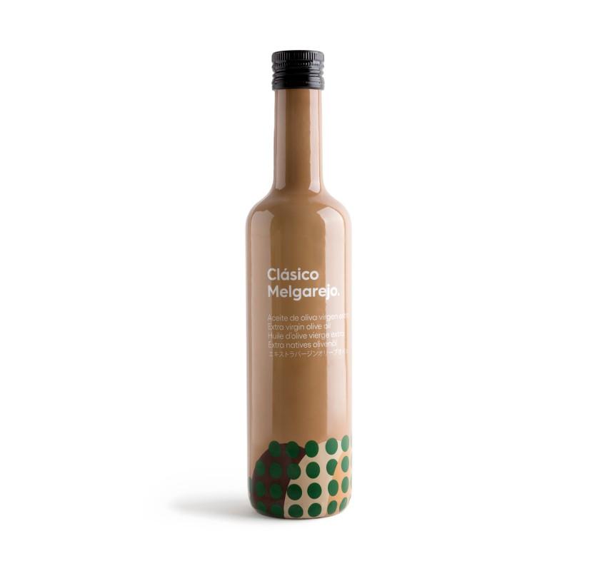 AOVE Clásico Melgarejo. Caja de 6 botellas de 500 ml.