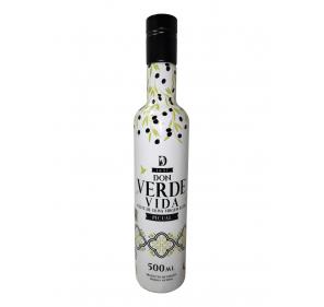 EVOO Don Verde Vida. Box of 6 bottles of 500 ml.