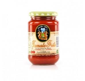 """Tomate frito en aceite de oliva """"Mata"""". Frasco de 370 gr."""