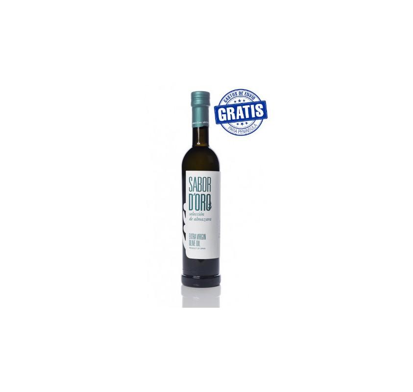 Sabor de Oro Selección de Almazara. Box of 6 bottles of 500 ml.