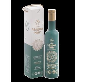 AOVE Magnasur. Estuche Athenea, botella de 500 ml.