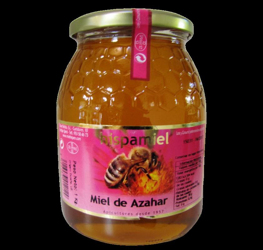 Jar of Orange Blossom Honey 1 kg