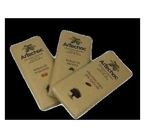 Artechoc. Pack de 3 chocolates. 3 x 115 gr.