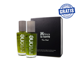 Finca La Torre One Limited Edition Twin Pack. Box of 5 Packs with 2 bottles of 200 ml.