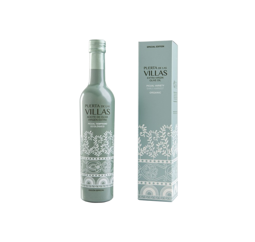 Ecological Early EVOO. Gate of the Villas. Special edition 500 ml.