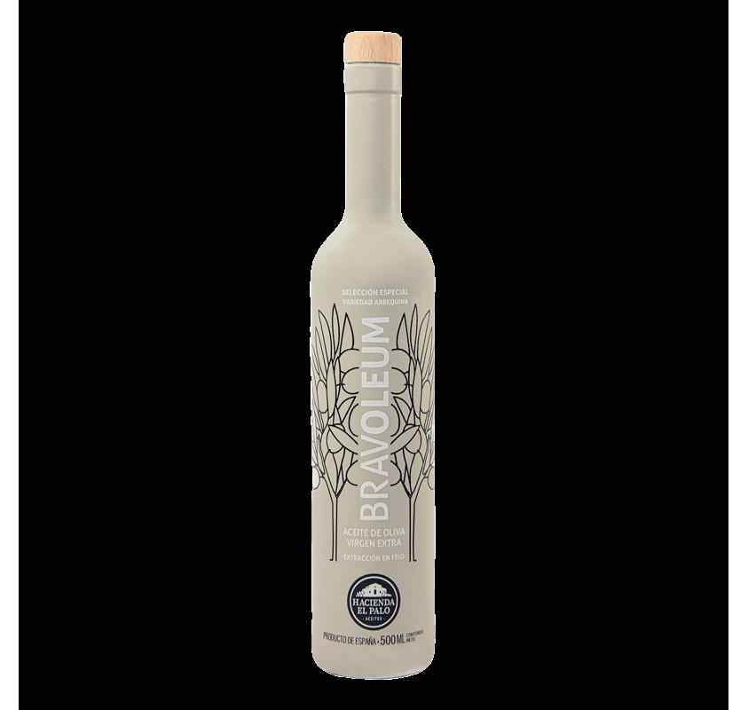 Bravoleum. Aceite de oliva Arbequina. 500 ml.