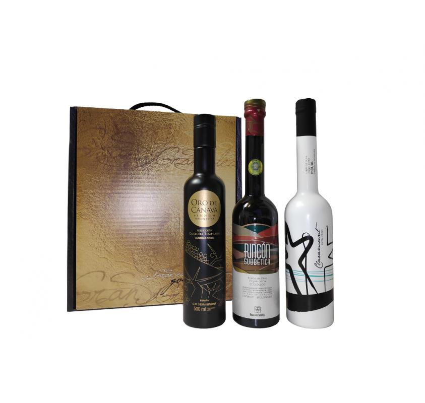 Mario Solinas award winning oils case