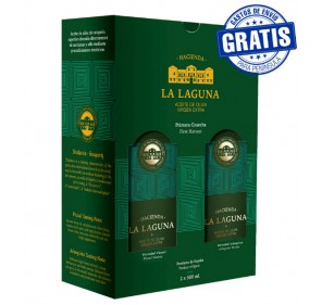 Hacienda La Laguna. Diafanea Limited Edition Case. 2 x 500 ml.