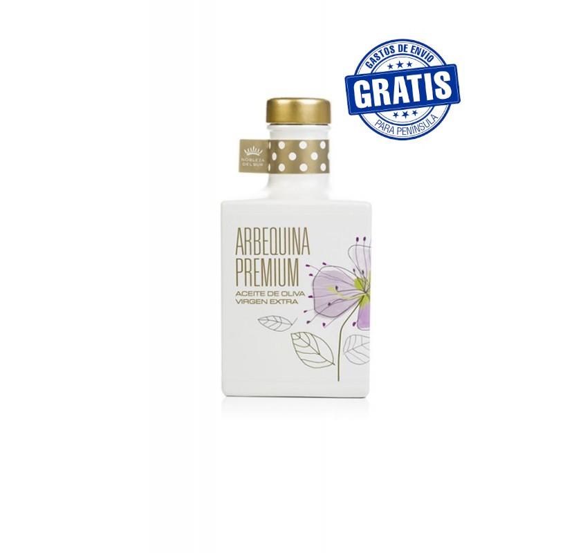 Nobleza del Sur, Arbequina Premium. 350 ml. Caja de 12 uds.