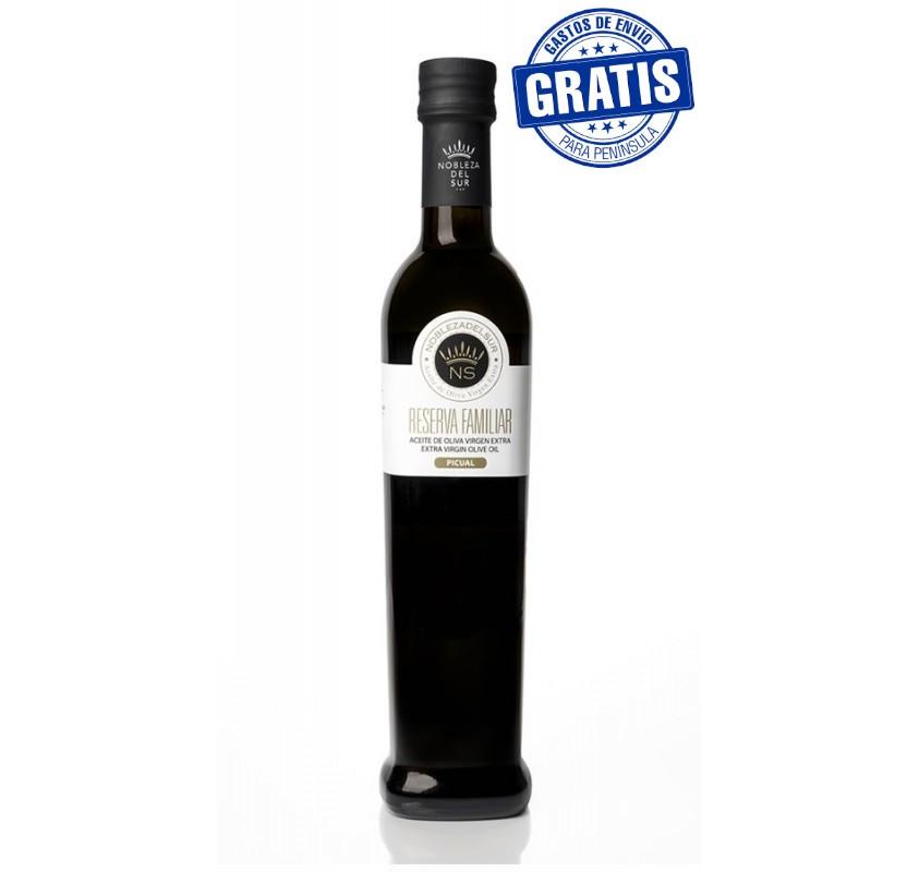 Nobleza del Sur, Reserva Familiar. Picual  variety. 15X250 ml.