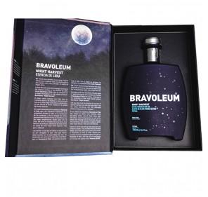 EVOO Bravoleum Night Harvest. Case with a 700 ml bottle.