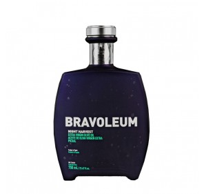 AOVE Bravoleum Night Harvest. Estuche con botella de 700 ml.
