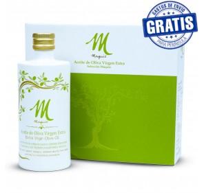 EVOO Maquiz. Varieties Case, 3 bottles of 500 ml.