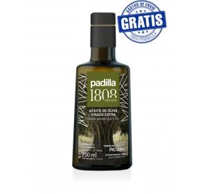 Padilla 1808. Extra Virgin Olive Oil. Box of 20 x 250 ml.