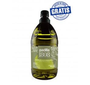 Padilla 1808. Extra Virgin Olive Oil. Box of 6 x 2 Liters.