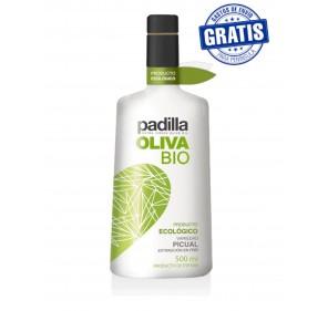 Padilla. Organic Extra Virgin Olive Oil Bio. Box of 12 x 500 ml.