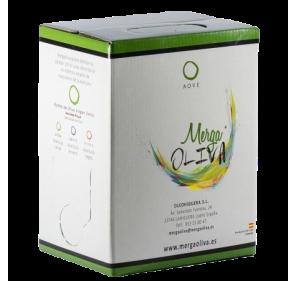 Mergaoliva Cenit. Picual Olive oil. Bag in box 3 Liters