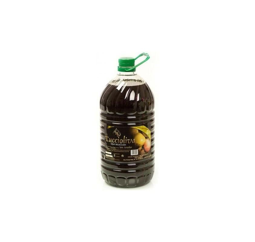 Tuccioliva. Aceite de oliva Picual. 5 litros.