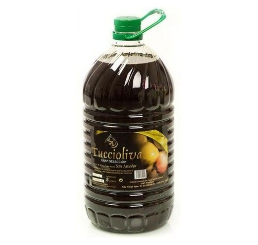 Tuccioliva. Picual Olive oil. 5 liters.