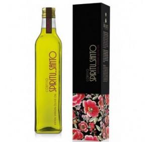 Spiritu Santo. Aceite de oliva Picual. Marasca 500 ml con Estuche regalo