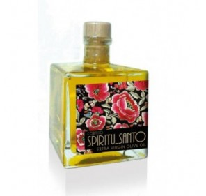 Mini glass bottle Spiritu Santo. Picual Olive oil. 100 ml