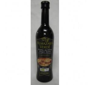 Almazara Verde Ecologico. Aceite de oliva Picual. 500 ml.