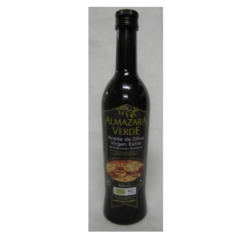 Almazara Verde Organic. Picual Olive oil. 500 ml