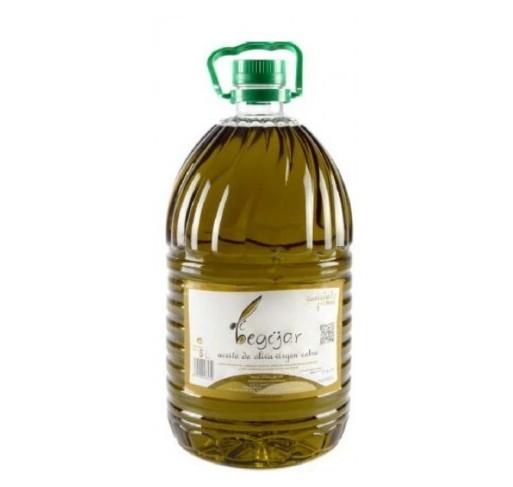 Olibegijar. Picual Olive oil. 3 bottles of 5 Liters