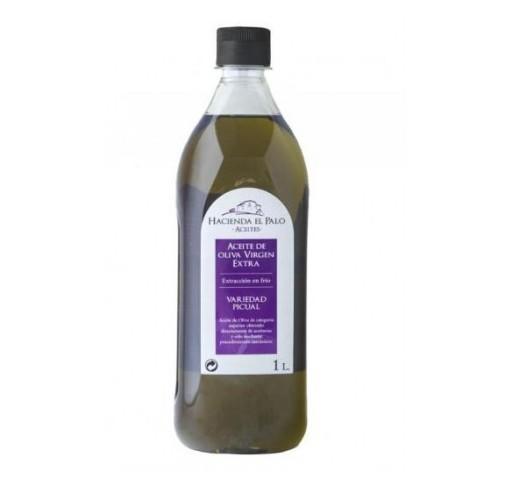 Hacienda el Palo. Aceite de oliva Picual. 12 botellas de 1 litro.