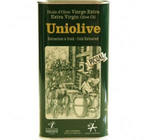 Almazara de la Union. Picual Olive oil. 16 tins of 1 Liter