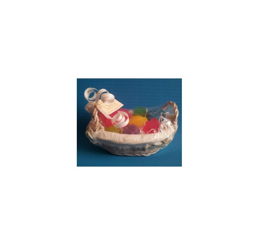 Basket With Soap