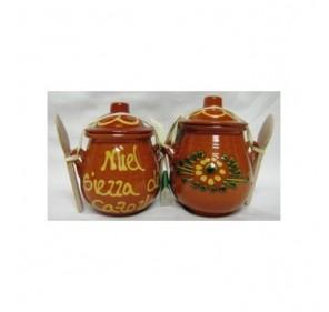 Orza ceramica de miel. 250 grs.