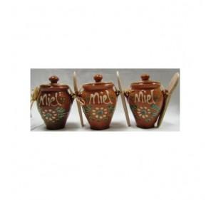 Orza ceramica de miel. 150 grs.