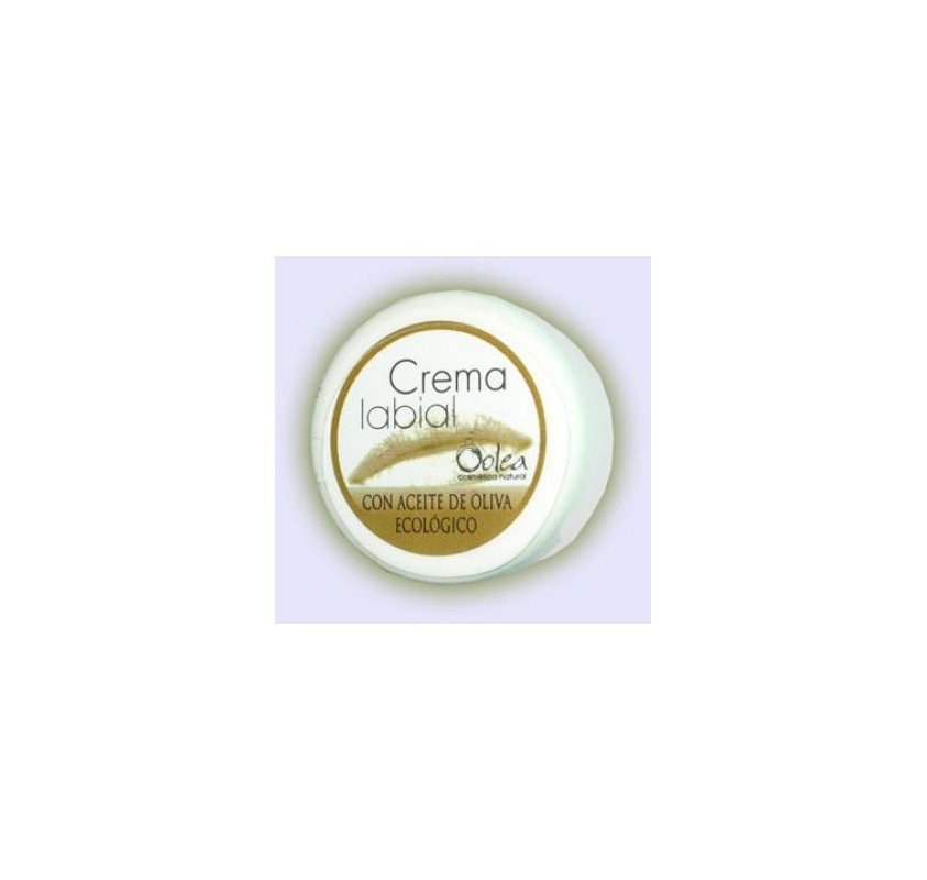 Lip cream with organic olive oil