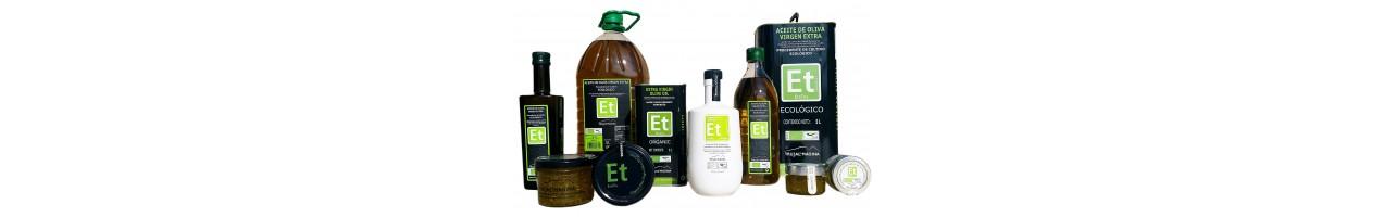 Aceites de oliva virgen extra Eretru de cultivo 100% Ecológico